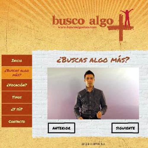 Página Web www.buscoalgomas.com