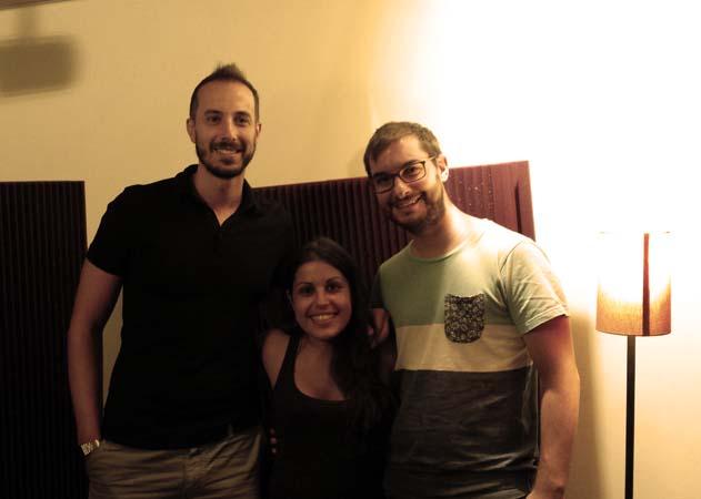 Con Miguel Belen e Ivan 33