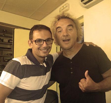 Con Migueli y Dani LVD