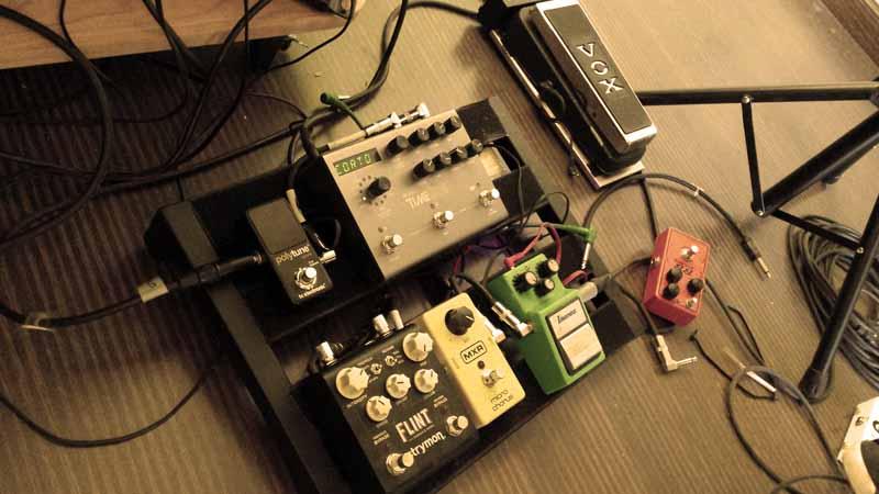 Efectos de guitarra eléctrica de José Atero