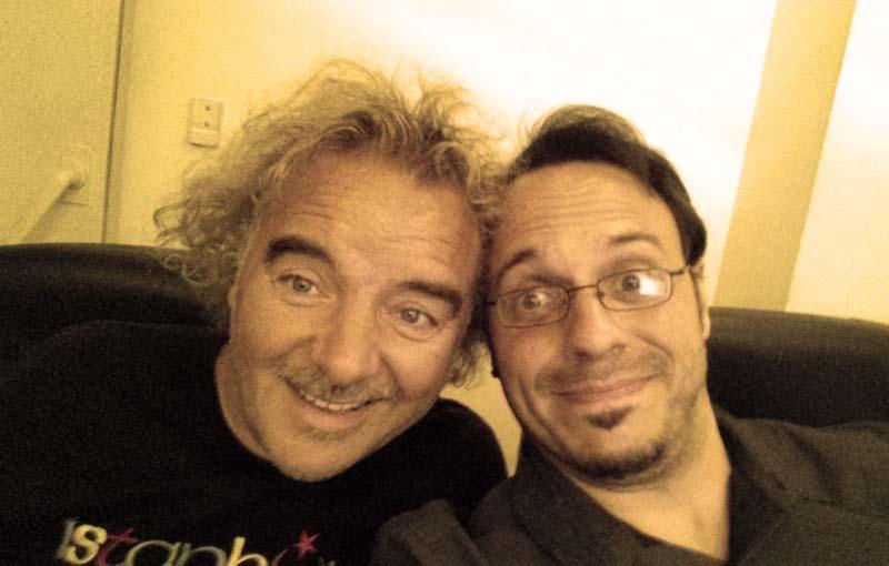 Migueli y David Santafé