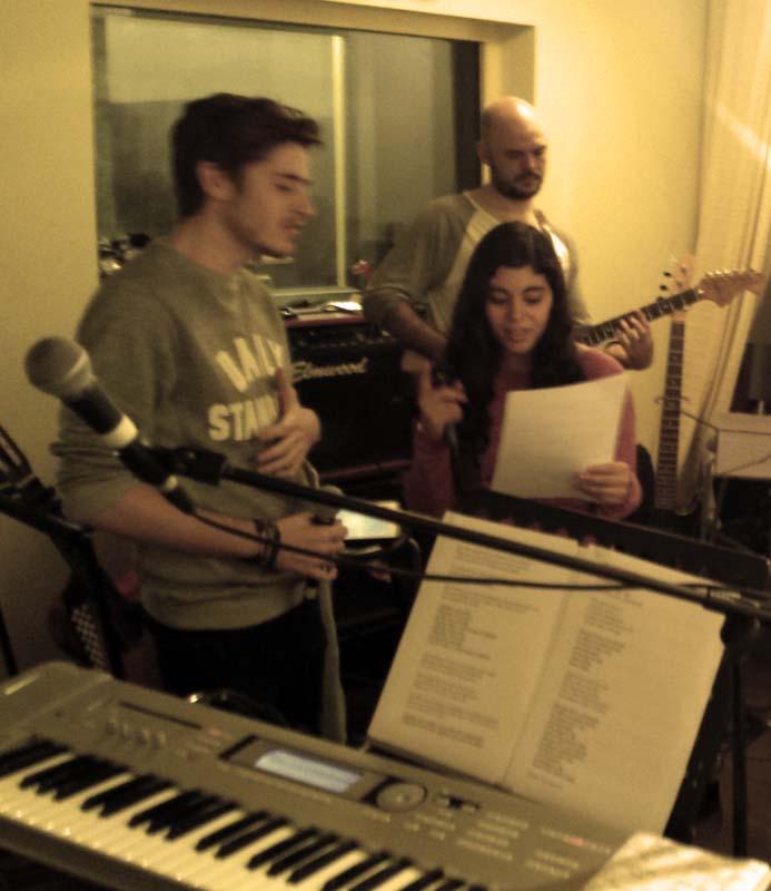 Dani Fernández, Yara Paz y José Atero