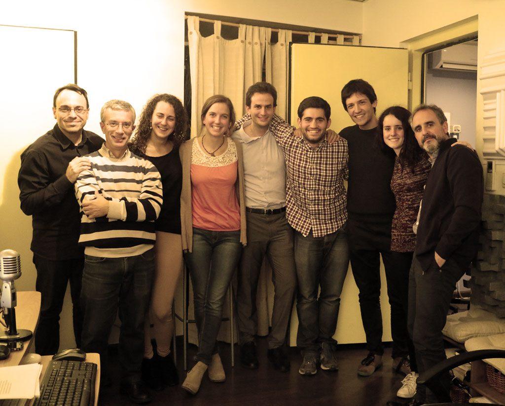 Sólo unos pocos en representación de todo el elenco