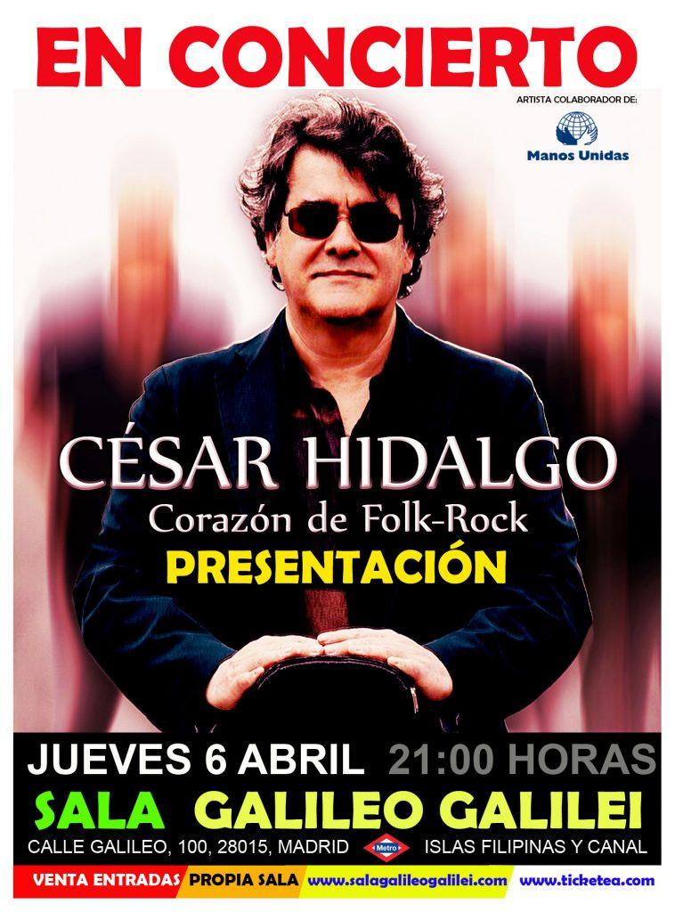 César Hidalgo En Concierto