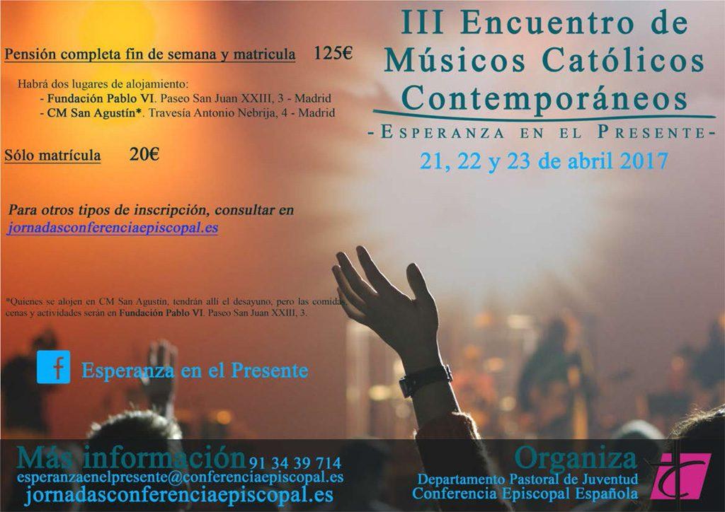 III Encuentro de Músicos Católicos Contemporáneos